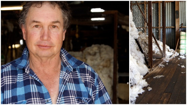 Wool Classer from Cargo, Graham Traves  loves what he's been doing for nearly 40 years.