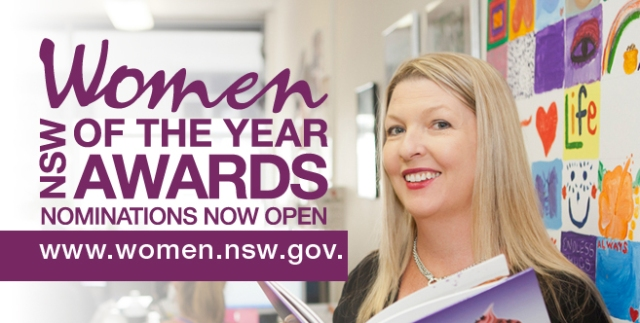 Who will you nominate for the NSW Women of the Year Awards?