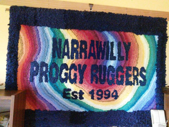 Narrawilly Proggy Ruggers Banner
