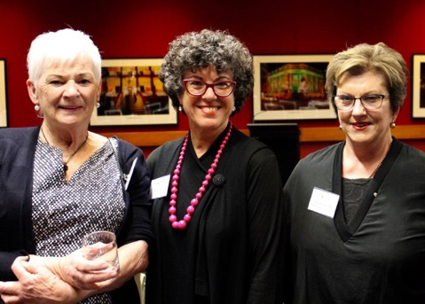 Fran Rowe with Sonia Muir & Marie Russell